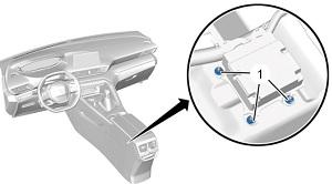Блок управления централизованной системы подушек безопасности Пежо 3008 II