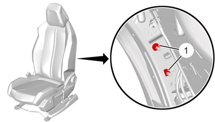 рестайлинг пежо 3008 5008 Передняя боковая подушка безопасности