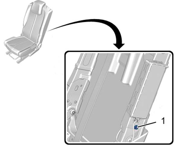 рестайлинг пежо 3008 5008 Задняя боковая подушка безопасности